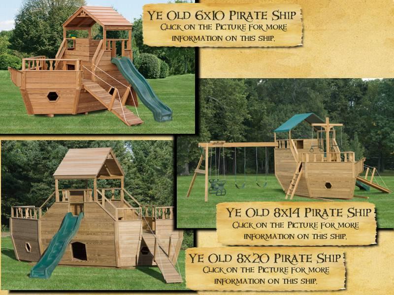 Wood Pirate Ships Woodplayshipscom